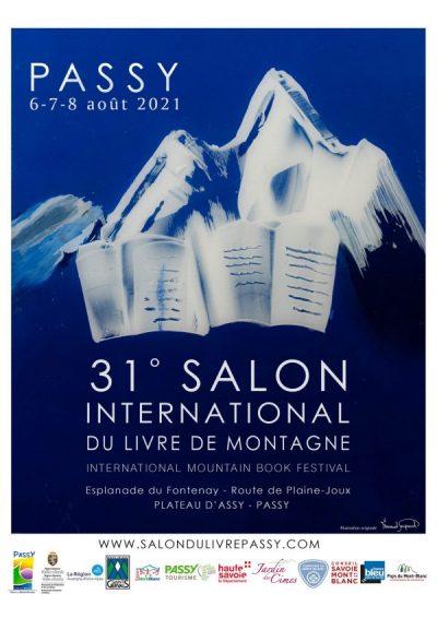 Affiche du Salon International du Livre de Montagne
