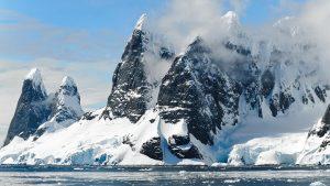 Une vie cachee en antarctique